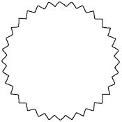 "White -1.75"" Starburst Stock Label (500/Rl)"