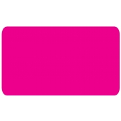 "Flour Pink - Blank Stock Label 2"" X 1.5"" (500/R)"
