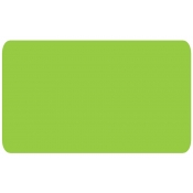 "Flou. Grn -Blank Stock Label 2"" X 1.5"" (500/R)"