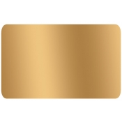 "Gold -Blank Stock Label 2"" X 1.5"" (500/R)"