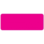 "Flour Pink -Blank Stock Label 2"" X .75"" (500/R)"