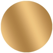 "Gold- 2"" Circle Blank Stock Lbl (500/Rl)"