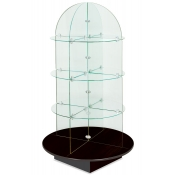 Rotating Glass Display (Black)