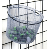 Gridwall Mount Mesh Display Basket