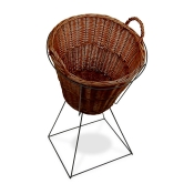 Angled Willow Basket Set