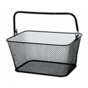 Mini Wire Mesh Baskets (Set of 12, Black)