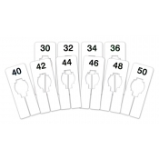 Men's Assortment of Rectangular Size Dividers