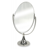 Deluxe Tilting Oval Mirror
