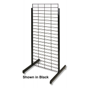 "Slatgrid 2-Way Promo Display - 24"" x 60"" (White)"