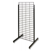 "Slatgrid 2-Way Promo Display - 24"" x 60"" (Black)"