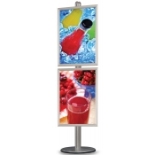 StyleLine Poster Frame Displays (Single-Sided Poster Display - 2 Frames)