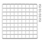Mini Grid Add-A-Shelf Kit for Grid Cube Displays (White)