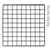 Add-A-Shelf Kit for Mini Grid Cube Displays (Black)