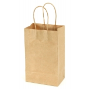 Small Natural Kraft Bags