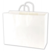 Large White Kraft Bags
