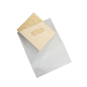 Medium Clear Frosty Low Density Merchandise Bags (Box of 500)