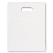 Jumbo White Low Density Merchandise Bags (Box of 500)