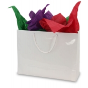 Large White Euro Tote Shopping Bags