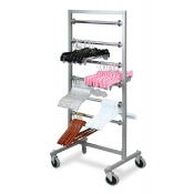 Mobile Hanger Transfer Rack (6-Tier)