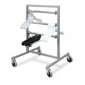 Mobile Hanger Transfer Rack (3-Tier)