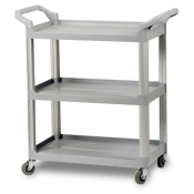 3-Shelf Composite Utility Cart