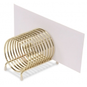 Coil-Shaped Check Caddy
