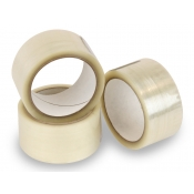 "Clear Packing and Shipping Tape (2"" Wide x 55 Yards)"