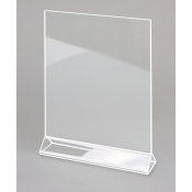 "Acrylic Card Holder - 8.5"" x 11"""