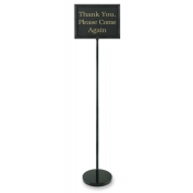 Classic Retail Sign Holder with 15 Pre-Printed Signs