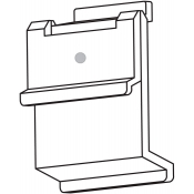 Channel Mount Shelf Clip
