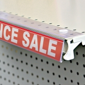 Flip-Up Shelf Sign Holder (Channel)