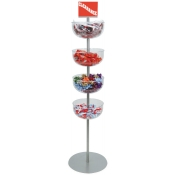 Bowl Tower Merchandiser