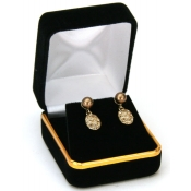 Classic Jewelry Boxes (Black Velvet Earrings)