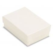 White Cotton Filled Jewelry Boxes (Earrings, Pins)