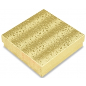 Gold Cotton Filled Jewelry Boxes (Mix Jewelry)