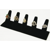 Long Ring Finger Display (Black)