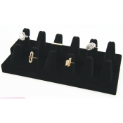 Ring Display - 12 Fingers (Black)