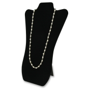 Large Necklace Easel  (Black Velvet)