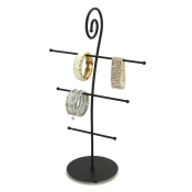 3-Tier Scroll Display (Black)