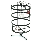 4-Tier Carousel (Black)
