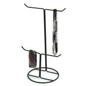 2-Tier / 4-Peg Displayer (Black)