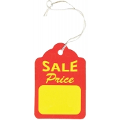 "Strung Sales Price Tags (1.75"" x 2.88"")"