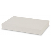 "White 2-Piece Apparel Boxes (10"" x 7"" x 1.5"")"