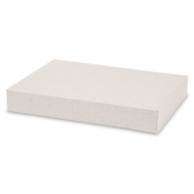 "White 2-Piece Apparel Boxes (11.5"" x 8.5"" x 1.5"")"