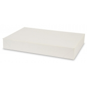 "White 2-Piece Apparel Boxes (17"" x 11"" x 2.5"")"