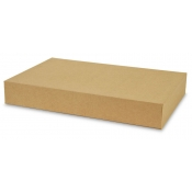"Kraft 2-Piece Apparel Boxes (17"" x 11"" x 2.5"")"