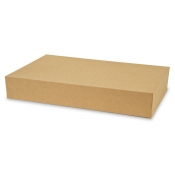 "Kraft 2-Piece Apparel Boxes (19"" x 12"" x 3"")"