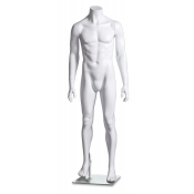 "High Gloss Headless Male Mannequin (Style ""B"")"