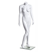 "High Gloss Headless Female Mannequin (Style ""A"")"