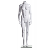 "High Gloss Headless Female Mannequin (Style ""B"")"